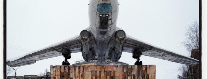 Памятник самолету Ту-104 is one of Posti che sono piaciuti a Водяной.
