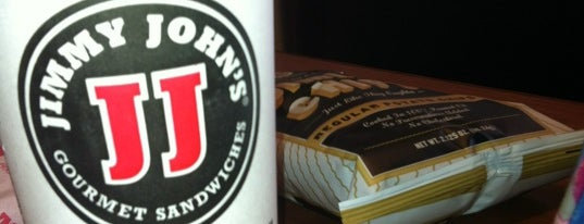 Jimmy John's is one of Rob's Liked Places.