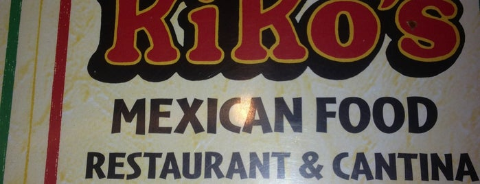 Kiko's Mexican Food Restaurant is one of Tempat yang Disukai Andres.