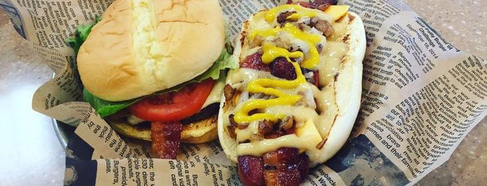 Jake's Wayback Burgers is one of Places to try.