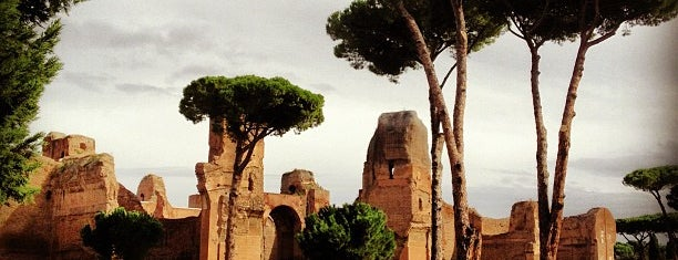 Terme di Caracalla is one of Roma Turisteo.