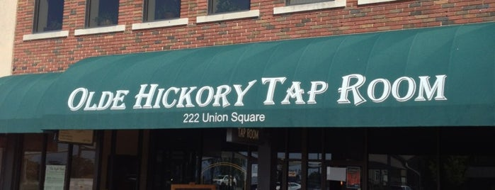 Olde Hickory Tap Room is one of Breweries I've been to..