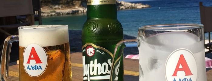 Calma Bar is one of Samos.