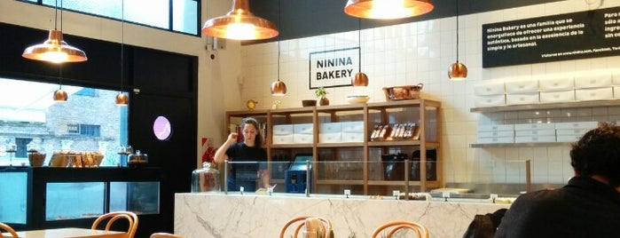 Ninina is one of cafes.