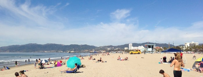 South Santa Monica Beach is one of Tempat yang Disukai Stephraaa.