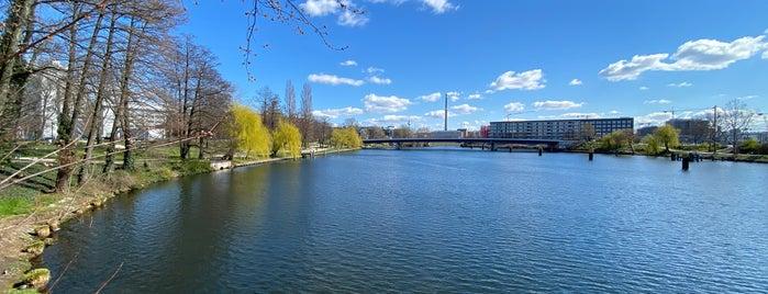 Nordhafenpark is one of Berlin.