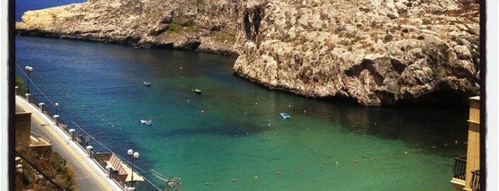 Xlendi Bay is one of Malta.
