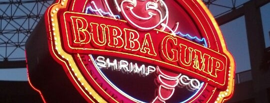 Bubba Gump Shrimp Co. is one of Restaurants.