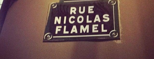 Rue Nicolas Flamel is one of Paris.