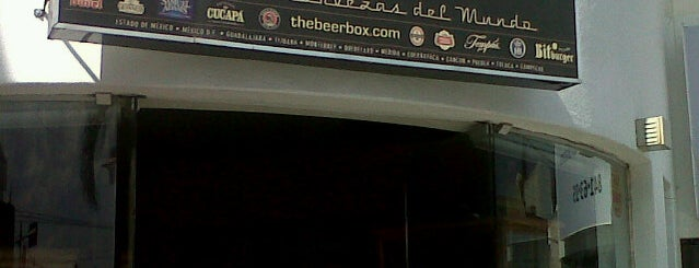 The Beer Box is one of Bares, cantinas, cervecerías, micheladas..