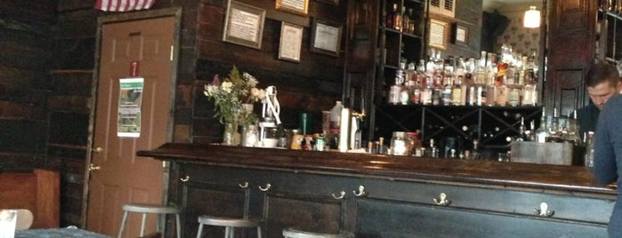Post Office Whiskey Bar is one of New York food+drink.