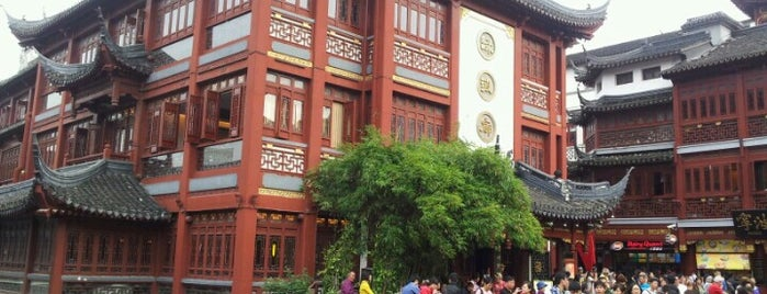 Yuyuan Classical Street is one of China highlights.