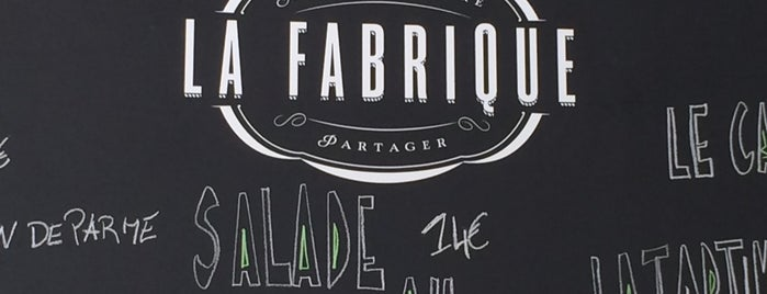La Fabrique Chatelain is one of Belgium - Resto.