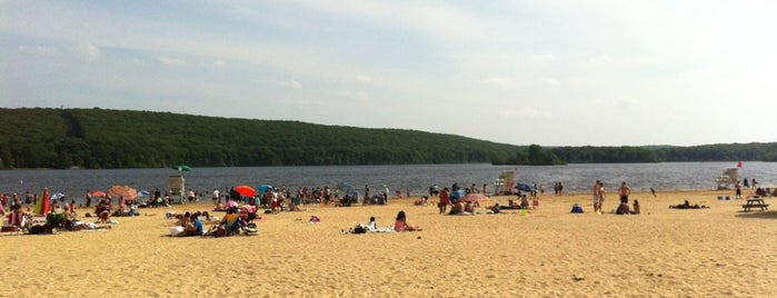 Lake Welch Beach is one of New York State Parks.