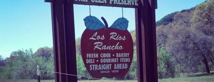 Los Rios Rancho is one of California.