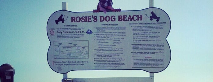Rosie's Dog Beach is one of So Cal.