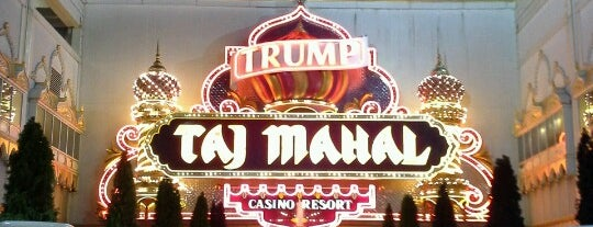 Trump Taj Mahal Casino Resort is one of Casinos.