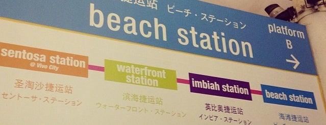 Beach Station is one of Singapura.