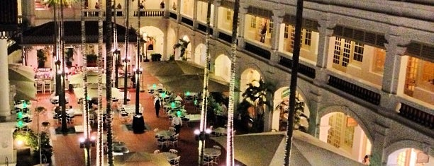Raffles Hotel is one of Singa.