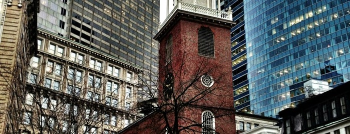 Old South Meeting House is one of bean town baby.