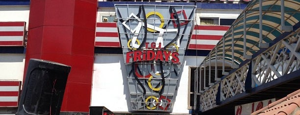 T.G.I. Friday's is one of Cairo القاهره.