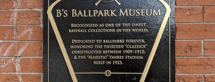 National Ballpark Museum is one of Denver.