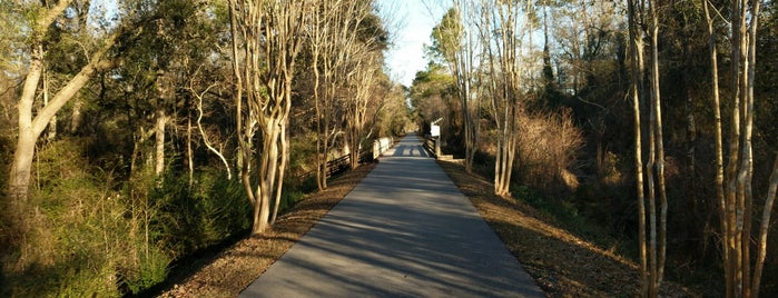 Tammany Trace Slidell Trailhead is one of Northshore Nature.