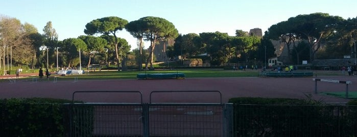 Stadio delle Terme di Caracalla is one of Lieux qui ont plu à Daniele.