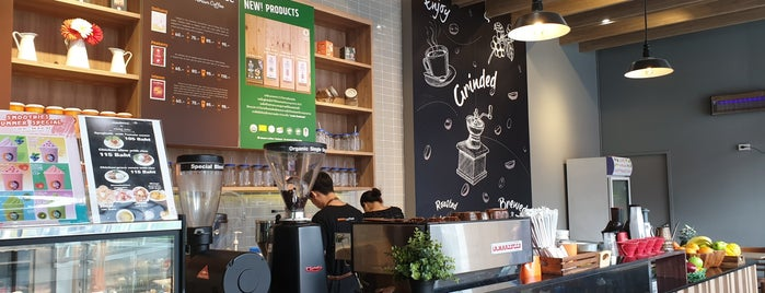 Wawee Coffee is one of Thailand.