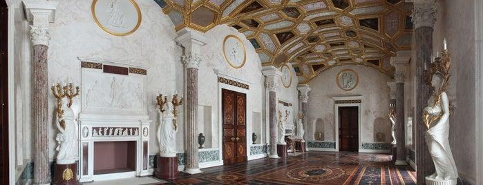 Екатерининский парк is one of EU Prize for Cultural Heritage 2014.