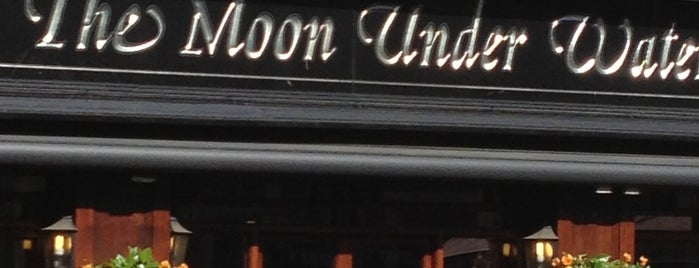 The Moon Under Water (Wetherspoon) is one of Monopoly Pub Crawl.