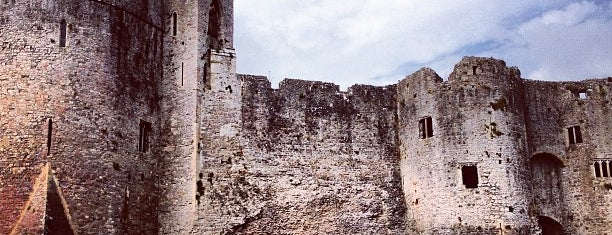 Chepstow Castle is one of Locais curtidos por Carl.