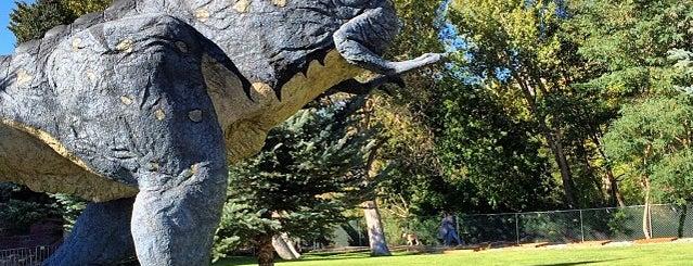 Eccles Dinosaur Park is one of Posti che sono piaciuti a Crispin.