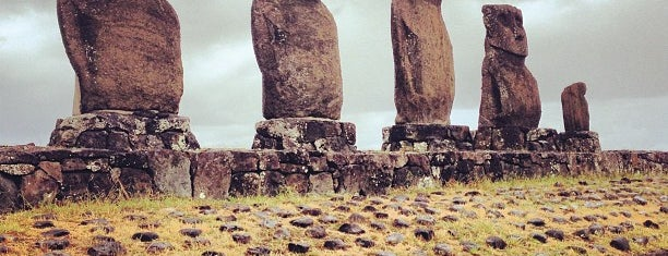 Ahu Tahai is one of Easter Island.