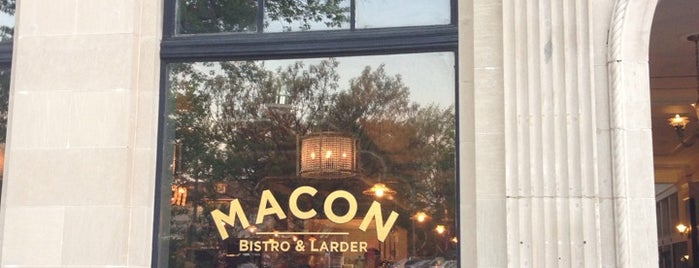 Macon Bistro & Larder is one of Bars, Restaurants to try in DC.