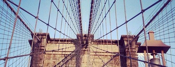 Бруклинский мост is one of New York.