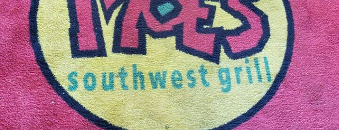 Moe's Southwest Grill is one of Locais curtidos por Mimi.