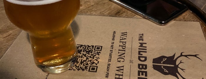Wild Beer at Wapping Wharf is one of สถานที่ที่ Danielle ถูกใจ.
