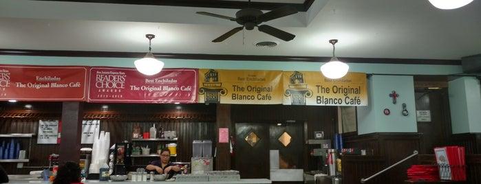 The Original Blanco Cafe is one of Austin and San Antonio.
