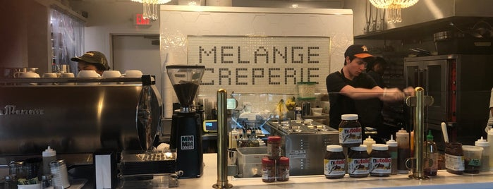 Melange Creperie is one of Lugares favoritos de Angela.