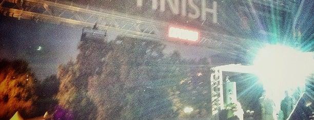 Ночной Забег 22.06.2013. Московский марафон is one of Posti che sono piaciuti a Dmitry.