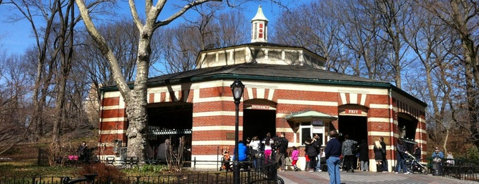 Central Park Carousel is one of NYC.
