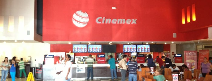 Cinemex is one of Esparcimiento.