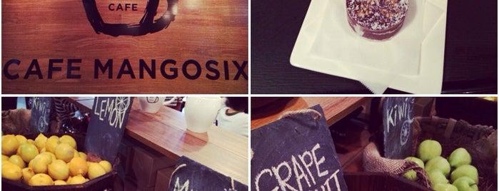 Cafe Mangosix is one of Atlanta.