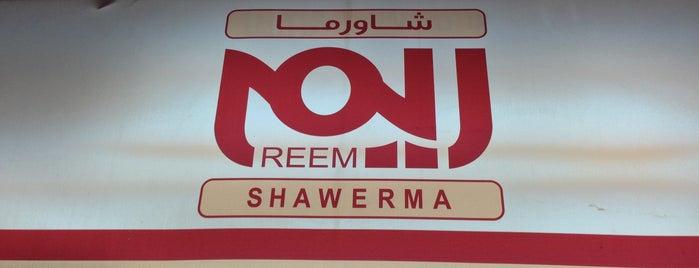 Shawerma Reem is one of Falafels.