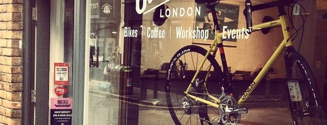 Soho Bikes is one of London Coffee.
