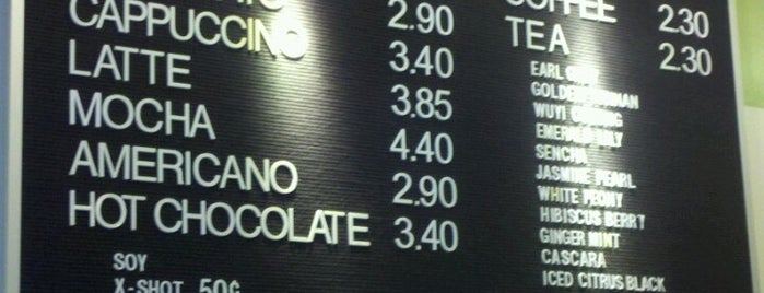 Peregrine Espresso is one of 15 Top Coffee Shops in D.C..