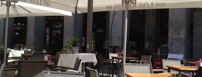 Los Arcos Bar Cafeteria is one of Posti salvati di Let.
