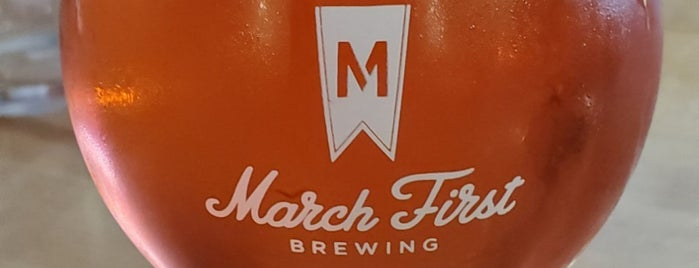 March First Brewing is one of Lugares favoritos de Mark.