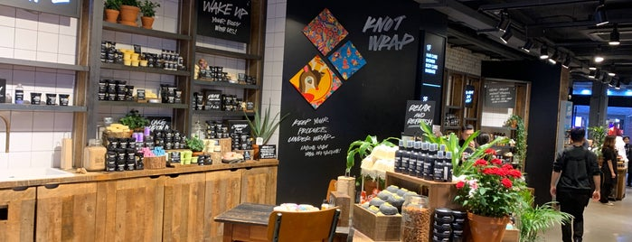 LUSH is one of South Korea.